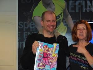 Barbie Award winner Graham Clarke - Best all 'Round, most powerful!